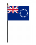 Cook Islands Hand Flag - Small.